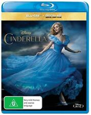Cinderella (Lily James) = NEW Blu-Ray