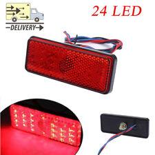 1PC Universal Car Truck ATV SUV 12V Red 24 LED Stop Fog Tail Brake Light Lamp UK
