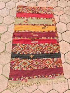Modern Handmade Turkish Kilim Rug
