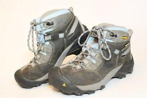 KEEN Targhee II Waterproof Mid Womens 37 6.5 M Leather Work Trail Hiking Boots