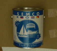 Semco 1 Gallon Teak Sealer Treatment Natural Finish Sealant Protector New