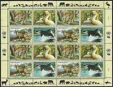 Timbres Animaux Nations Unies Vienne F 319/22 ** année 2000 lot 4204