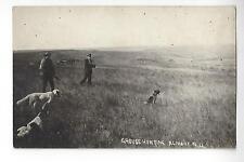 Grouse Hunting Almont, North Dakota RPPC