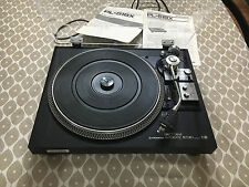 Piatto giradischi d'epoca Pioneer PL-518X con manuali e cappa nuova! vintage