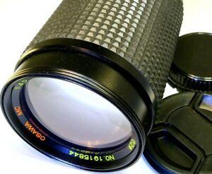 Osawa 75-260mm f4.5 FD manual focus telephoto Lens for CANON AE-1