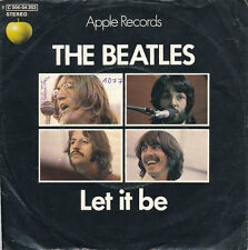 "7"" - The BEATLES - LET IT BE / YOU KNOW MY NAME - Apple 006-04353 - DE 1970"