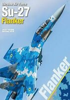 NEW Model Art Ukraine Air Force Su-27 Flanker Book from Japan