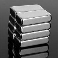 8 Stück 20*10*5mm Quaderförmiger N52 Neodym Seltener Erdmagnet Block Magnet
