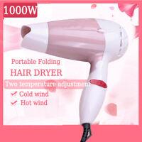 Professional Hair Dryer Household/Travel Flodable Mini Electric Hair   1@c