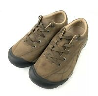 Keen Shoes Presidio Womens 8 Brown Leather Microsuede Hiking Lace Up