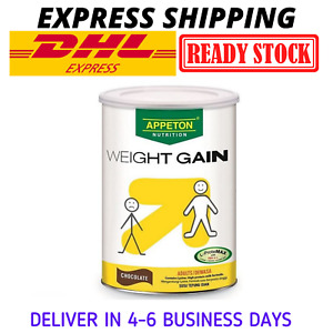 Appeton Weight Gain Powder for Adults Chocolate Flavor 900g DHL EXPRESS SHIP