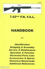 FN FAL 7.62mm Assembly, Disassembly Manual