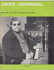 AUG 1963 JAZZ JOURNAL vintage music magazine CHARLIE MINGUS