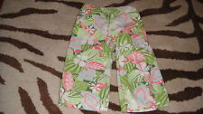 JANIE AND JACK 2T FLORAL CAPRIS ISLAND SUMMER