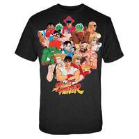 STREET FIGHTER T-Shirt Noir Group Taille XL