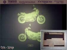 Yamaha XV 750_se_5k4 _ catálogo de repuestos _ microfich _ 1981
