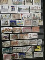 Thematic stamps buildings