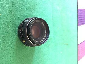Pentax M 50 f/1.7 prime lens