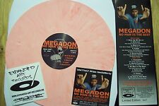 Megadon no man is the best RED-WHITE Vinile LARGE Pro Sadat X Smif-N-Wessun ruste