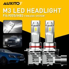 AUXITO 9005 HB3 LED Headlight Bulb High Beam for Honda Accord Civic CR-V Odyssey