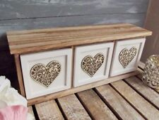 Unbranded Wooden Decorated Home Storage Boxes