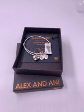 Alex & Ani Cupids Heart W/ Arrow Silver Tone