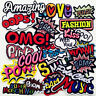 Mix Assorted Sew on/Iron on Embroidered  Patch Diy Craft Clothes Applique