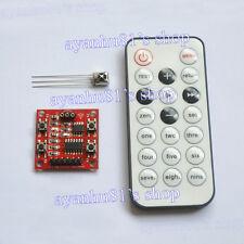 5V 4 CH Wireless IR Infrared Remote Control Module Self-locking/Interlocking/Jog