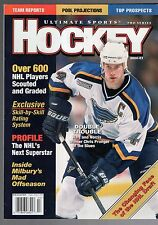 2000-01 ULTIMATE SPORTS HOCKEY YEARBOOK-CHRIS PRONGER-ST. LOUIS BLUES