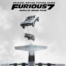 FAST & FURIOUS 7 CD SOUNDTRACK - ORIGINAL MOTION PICTURE SCORE (2015) - NEW