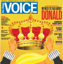 The Village Voice January 24 2017 Donald Trump Inauguration Cover Free Shipping