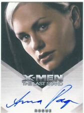 X Men 3 The Final Stand Autograph Card Anna Paquin as Rogue