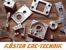 Angebot über CNC Frästeile Drehteile made in Germany schnell und zuverlässig