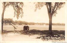 RPPC DES MOINES IA 1943 Parade Grounds @ Ft Des Moines VINTAGE WW II ERA GEM+++