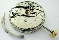 Antique TIFFANY & Co Swiss Pocket Watch MOVEMENT REPEATER 1/4 ? Hour 38mm REPAIR