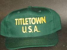 "NFL Cap - Hat, ""Green Bay Packers"" (Title Town USA) NEW"