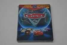 Disney Pixar Cars 2 Blu Ray DVD Steelbook Collector Case Only NEW SEALED
