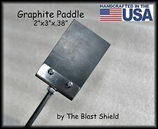 """2"""" x 3"""" Graphite Paddle by The Blast Shield"""
