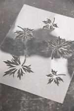 "Jeanne d'Arc Living Vintage Stencil ""Leaves"" Shabby Chic Schablone NEU"