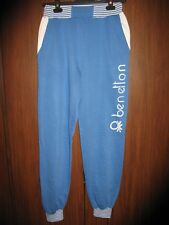 VINTAGE BENETTON SPORTS PANTS TROUSERS SIZE M L VERY RARE MADE IN ITALY Rugby
