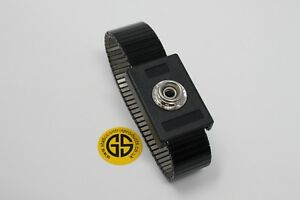 ESD, Anti-Static, Grounding / Earthing Stretch Metal Wrist Band by GroundStat™