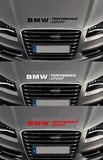 Para BMW-BMW Rendimiento Bonnet cheques Coche Decal Sticker - 600mm de largo