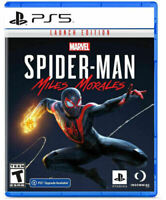 Spider-Man: Miles Morales Launch Edition PlayStation 5 PS5 - LikeNew - Valid DLC