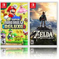 New Super Mario Bros. U Deluxe + The Legend of Zelda: Breath of the Wild - Two