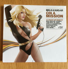 Milk & Sugar On A Mission 2x CD Compilation Mixed Digipak Mint Electronic 2008