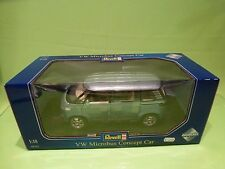 REVELL 08444 VOLKSWAGEN MICROBUS CONCEPT CAR - BLUE 1:18 - NEAR MINT IN BOX