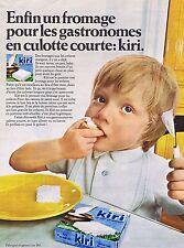 Publicité Advertising 016 1969 Kiri fromage pour les gastronomes