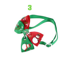 1pc Christmas Dog Cat Pet Puppy Bow Knot Necktie Collar Bow Tie Clothes Cute Toy 3