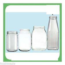Vaso Vasetto Barattolo in Vetro Vasetti Per Alimenti 1062 ml pz 10