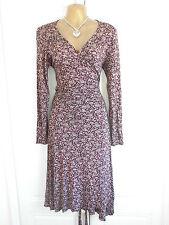 Topshop V-Neck Long Sleeve Wrap Dresses
